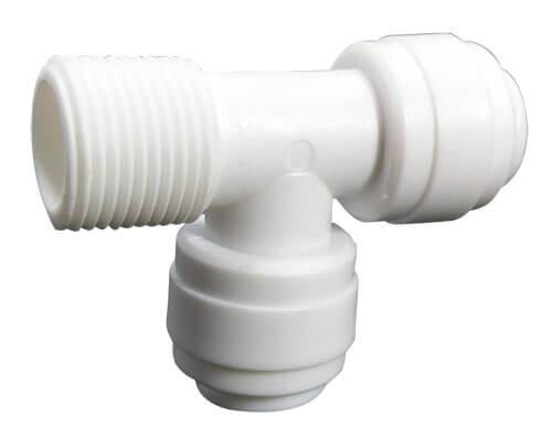 tee male threaded connector