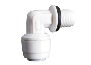 elbow check valve male