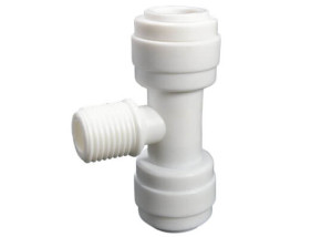 male threaded tee connector