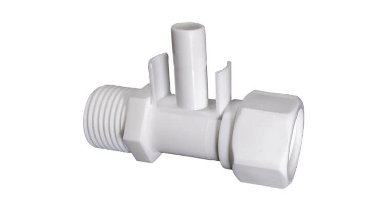 Stem With Thread 3 Way Fitting For RO Water Purifiers